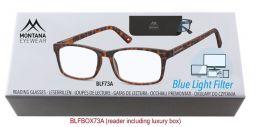 Brýle na počítač BLF BOX 73A s dioptrií +2,00