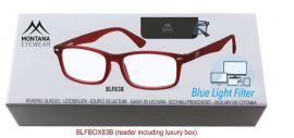 Brýle na počítač BLF BOX 83B s dioptrií +1,00