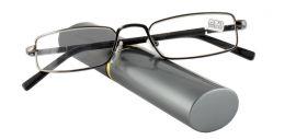 Dioptrické brýle v pouzdru Effect 555/ +2,25 BLUE-SILVER