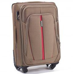 Sada 3 textilních kufrů WINGS 1706 4W DOUBLE YELLOW L/M/S E-batoh