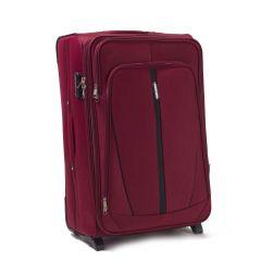 Sada 3 textilních kufrů WINGS 1706 DOUBLE RED L/M/S E-batoh