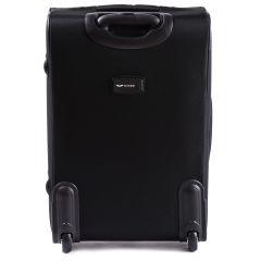 Sada 3 textilních kufrů WINGS 206 BLACK L/M/S E-batoh