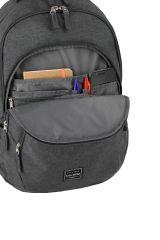 Travelite Basics Backpack Melange Anthracite E-batoh