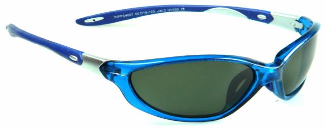 Polarizační brýle WITHGO 4007 zelené čočky modrá obruba Cat.3 E-batoh