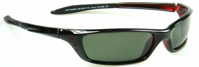 Polarizační brýle WITHGO 4002 zelené čočky Cat.3 + pouzdro E-batoh