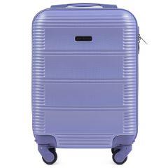 Cestovní kufr WINGS 203 ABS LIGHT PURPLE malý xS