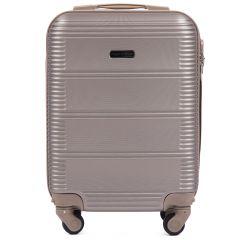 Cestovní kufr WINGS 203 ABS CHAMPAGNE malý xS