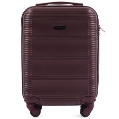 Cestovní kufr WINGS 203 ABS RED malý xS
