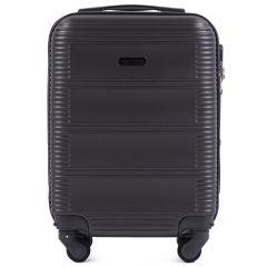 Cestovní kufr WINGS 203 ABS DARK GREY malý xS