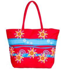 Letní taška Benzi BZ4537 - červená