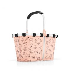 Reisenthel Carrybag XS Kids Cats and dogs rose