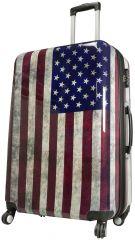 Cestovní kufr USA velký L