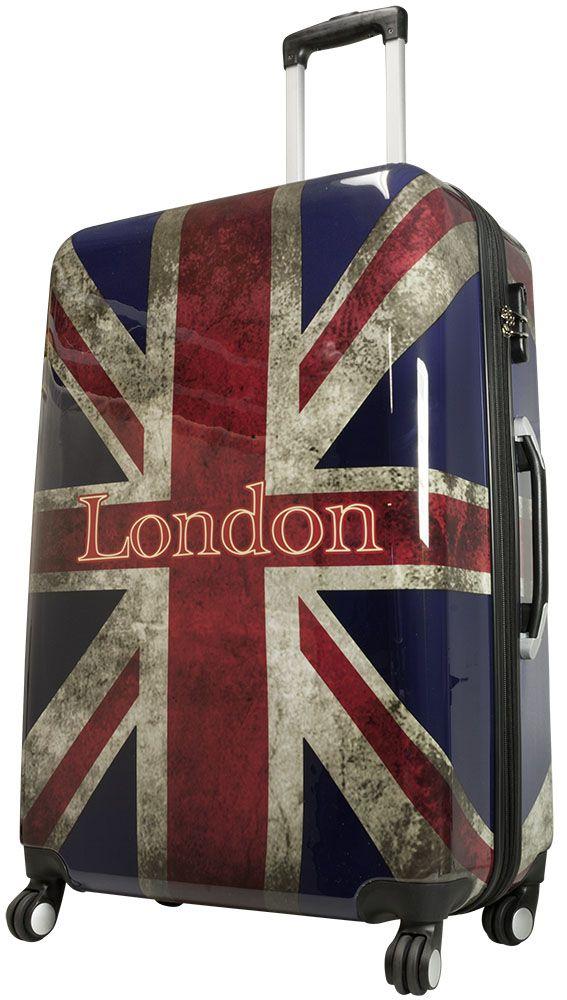 Cestovní kufr UNION JACK VELKÝ L