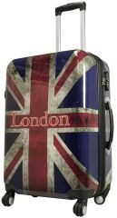 Cestovní kufr UNION JACK střední M
