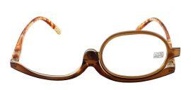 Dioptrické a kosmetické brýle /+2,25 hnědé
