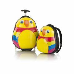 Heys Travel Tots Parrot – sada batohu a kufru