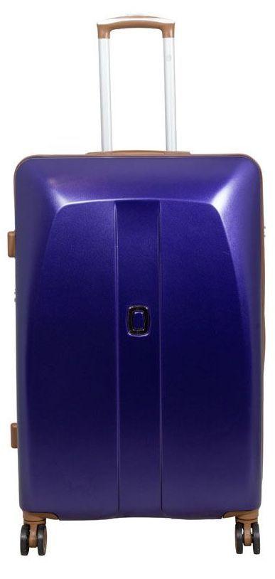 Cestovní skořepinový kufr ABS Bruggy velký L modrý