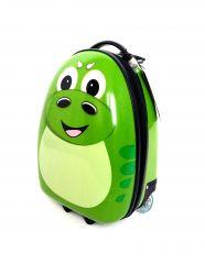 Dětský skořepinový kufr DINO