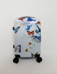 Cestovní kufr ABS MOTÝL A KYTKY TR-A29 S