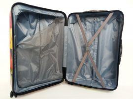Cestovní kufr ABS MOTÝL A KYTKY TR-A29 S E-batoh