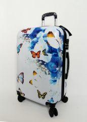 Cestovní kufr ABS MOTÝL A KYTKY TR-A29E M
