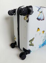 Cestovní kufr ABS MOTÝL A KYTKY TR-A29E M E-batoh