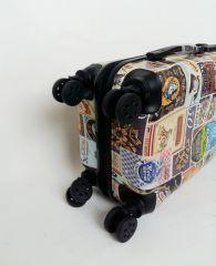 Cestovní kufr ABS PICTURES TR-A29 S E-batoh
