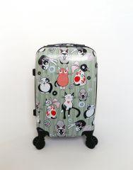 Cestovní kufr ABS KOČKY2 TR-A29 S