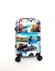 Cestovní kufr ABS CITY NEW YORK TR-A29 S