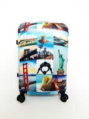 Cestovní kufr ABS CITY NEW YORK TR-A29E M