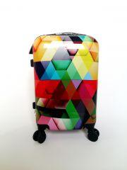 Cestovní kufr ABS MOZAIKA TR-A29E S