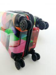 Cestovní kufr ABS MOZAIKA TR-A29E S E-batoh