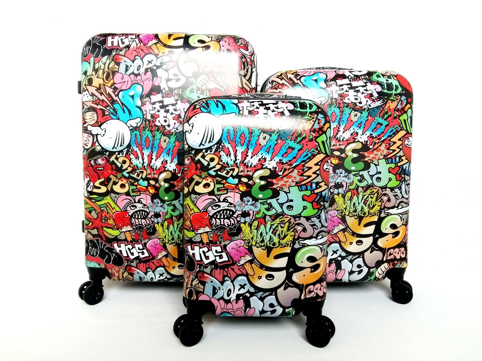 Cestovní kufry sada ABS BOOM TR-A29E