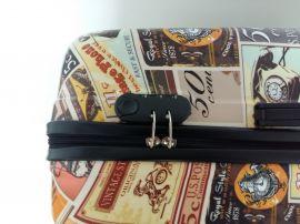 Cestovní kufry sada ABS PICTURES TR-A29E E-batoh