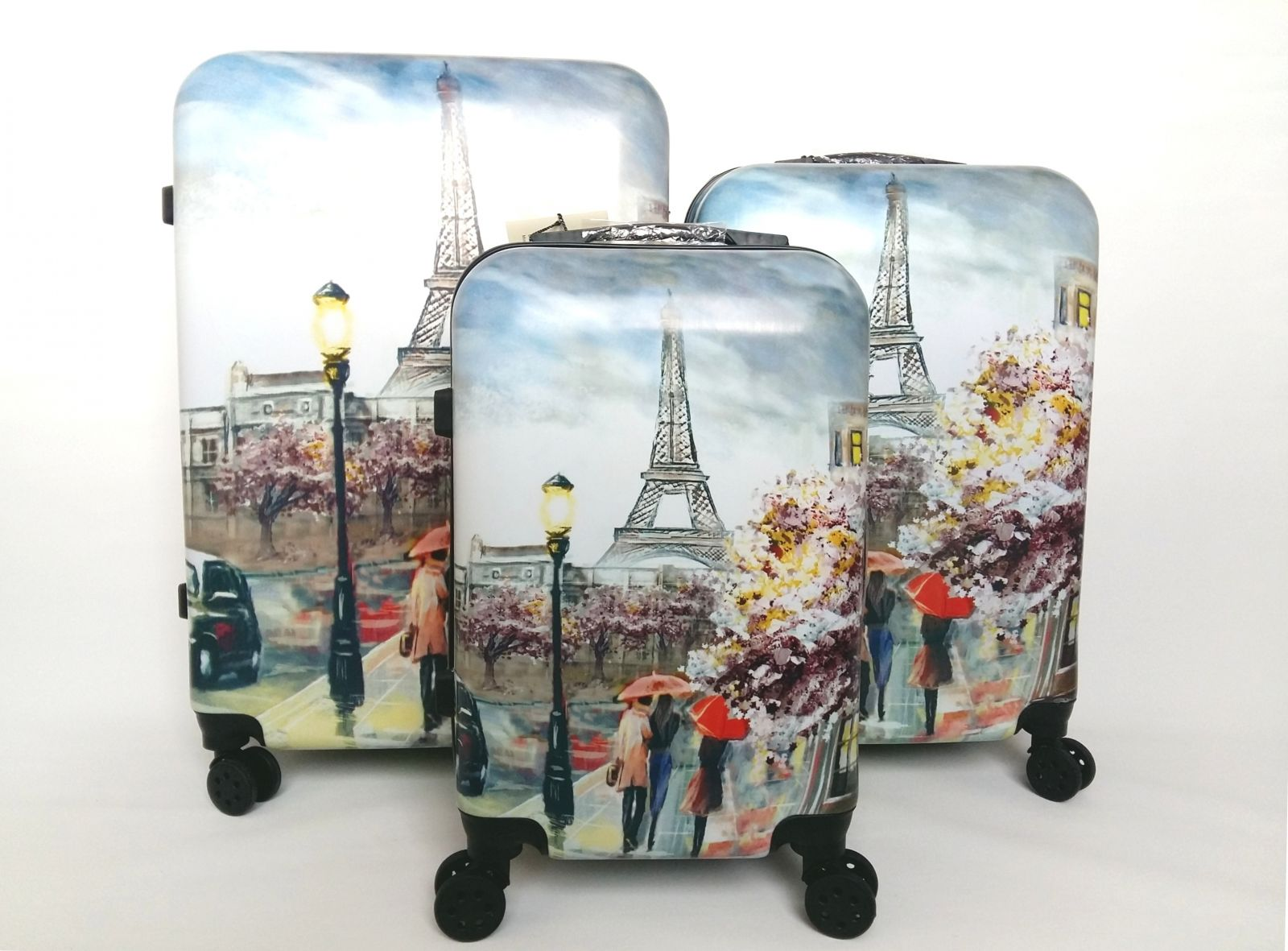 Cestovní kufry sada ABS PARIS3 TR-A29E