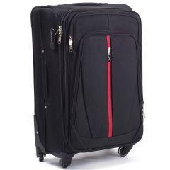 Cestovní kufr WINGS 1706 BLACK malý S