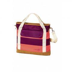 Meatfly Kuna Ladies Bag D - Coral Stripe