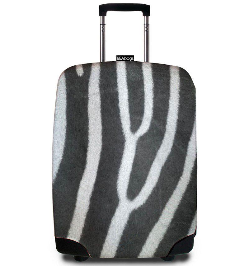 Obal na kufr REAbags® 9015 Zebra