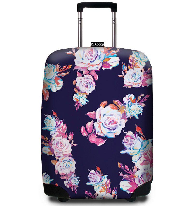 Obal na kufr REAbags® 9078 Roses