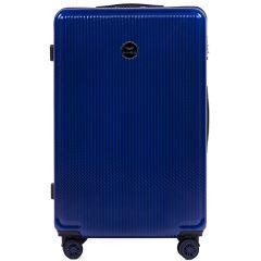 Cestovní kufry sada WINGS ABS- PC BLUE L,M,S E-batoh