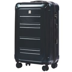 Cestovní kufry sada WINGS TSA IMPERIAL ABS- PC DARK GREEN L,M,S E-batoh