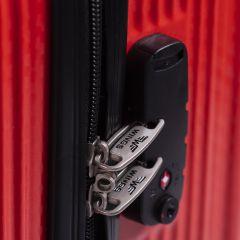 Cestovní kufr WINGS ABS POLIPROPYLEN BLACK velký L E-batoh