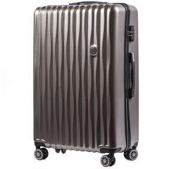 Cestovní kufr WINGS ABS POLIPROPYLEN BRONZE velký L