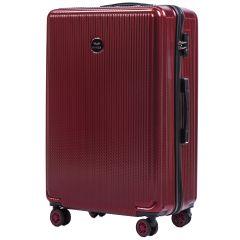 Cestovní kufr WINGS ABS POLIPROPYLEN VINE RED velký L