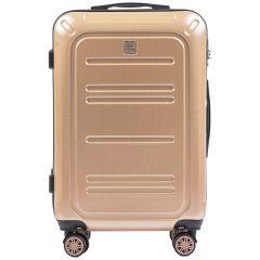 Cestovní kufr WINGS ABS POLIPROPYLEN CHAMPAGNE střední M E-batoh