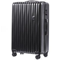 Cestovní kufr WINGS ABS POLIPROPYLEN DARK GREY velký L