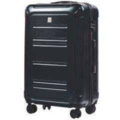 Cestovní kufr WINGS ABS POLIPROPYLEN DARK GREEN velký L