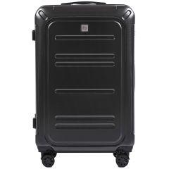 Cestovní kufr WINGS ABS POLIPROPYLEN DARK GREY velký L E-batoh