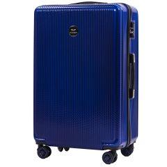 Cestovní kufr WINGS ABS POLIPROPYLEN BLUE velký L