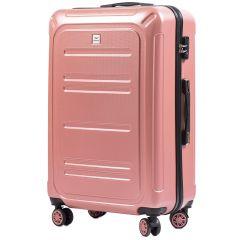 Cestovní kufr WINGS ABS POLIPROPYLEN PINK velký L